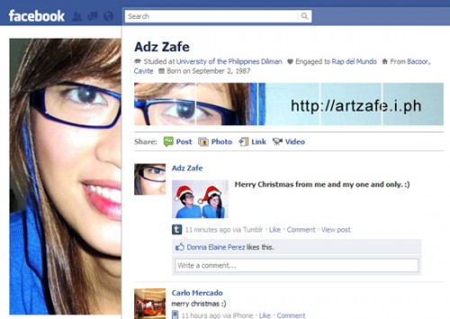 new facebook profile hack18 e1293997100879 35 Most Amazing And Creative Examples Of New Facebook Profile Page Design