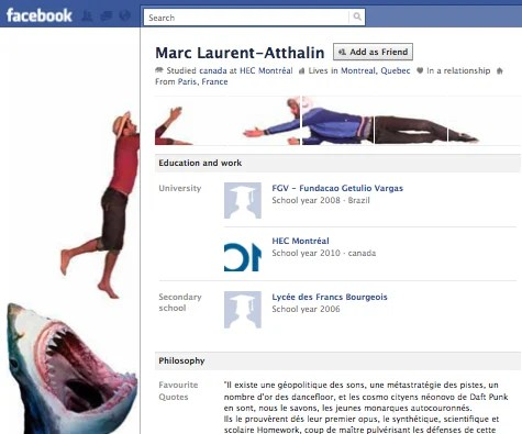 new facebook profile hack20 35 Most Amazing And Creative Examples Of New Facebook Profile Page Design