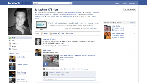 new facebook profile hack28 e1293999137679 35 Most Amazing And Creative Examples Of New Facebook Profile Page Design