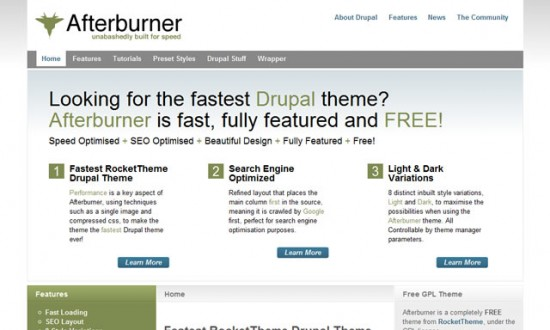 best free drupal theme13 e1300082558211 40 High Quality Drupal Themes For Free Download