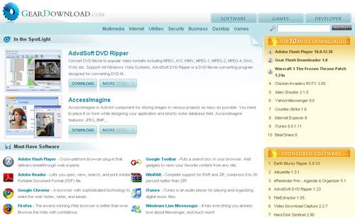 geardownload Top 10 Best Free Software Download Sites