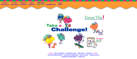 Figure This Math Challenges for Families Challenge Index 450x195 25 Great Websites For Learning Maths