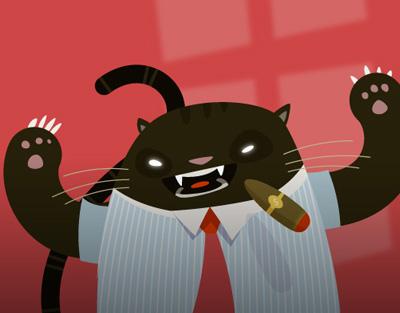 fat cat 80 Excellent Adobe Illustrator Cartoon Tutorials