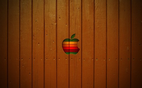 macwooden e1273315243496 35 Most Beautiful Widescreen Wallpapers of Apple