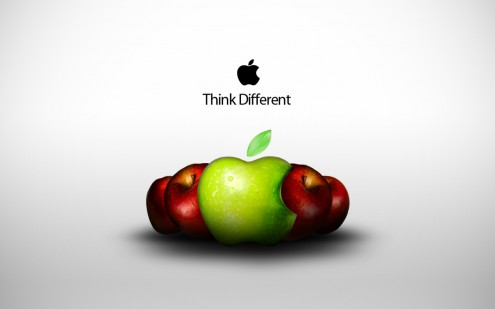 think e1273317249460 35 Most Beautiful Widescreen Wallpapers of Apple