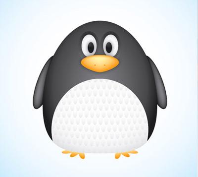 vector penguin 80 Excellent Adobe Illustrator Cartoon Tutorials