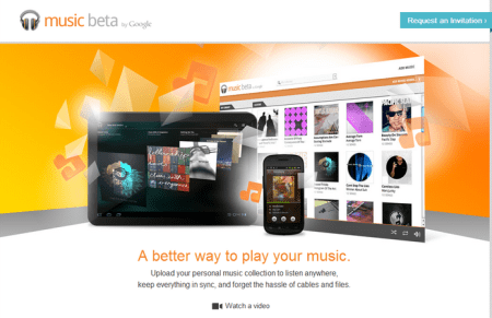 Google Music 450x291 Best Entertainment Websites On The Web in 2011