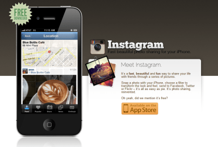 Instagram 450x304 Best Entertainment Websites On The Web in 2011