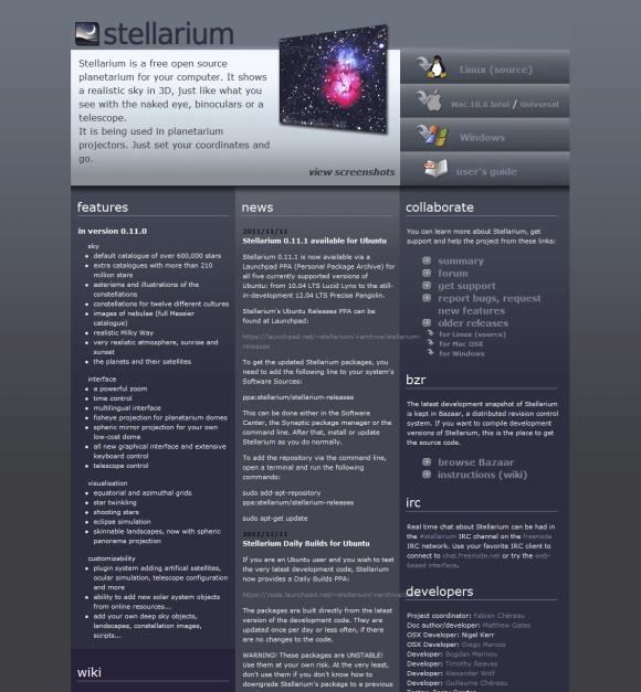 Stellarium 580x627 8 Best Free Astronomy Software