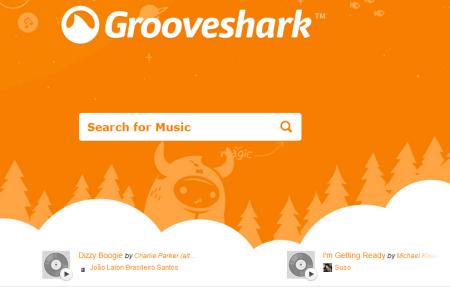 grooveshark 450x287 Best Entertainment Websites On The Web in 2011