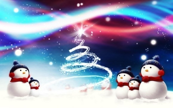 christmaswallpapers40 580x362 50+ Beautiful Christmas Wallpapers for your Desktop