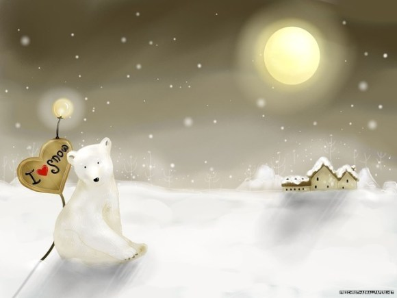 christmaswallpapers51 580x435 50+ Beautiful Christmas Wallpapers for your Desktop