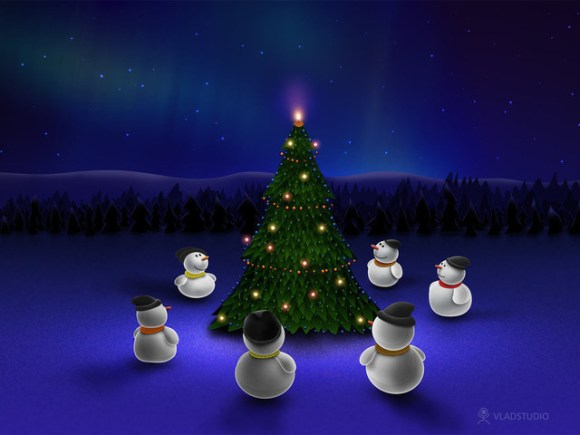 christmaswallpapers53 580x435 50+ Beautiful Christmas Wallpapers for your Desktop