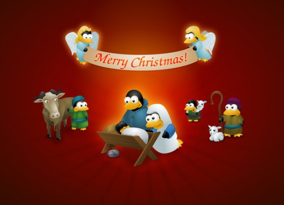 christmaswallpapers61 580x418 50+ Beautiful Christmas Wallpapers for your Desktop