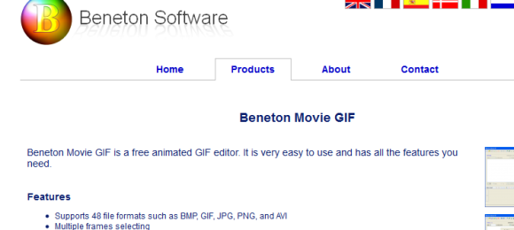 Benetonsoftware 580x260 21 Best 2D Animation Software for Free Download (Windows)