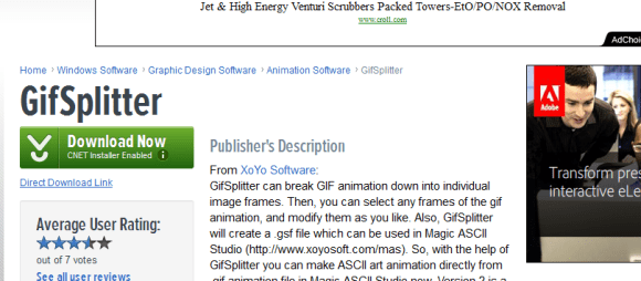 GifSplitter 580x254 21 Best 2D Animation Software for Free Download (Windows)