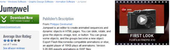 Jumpwel 580x173 21 Best 2D Animation Software for Free Download (Windows)