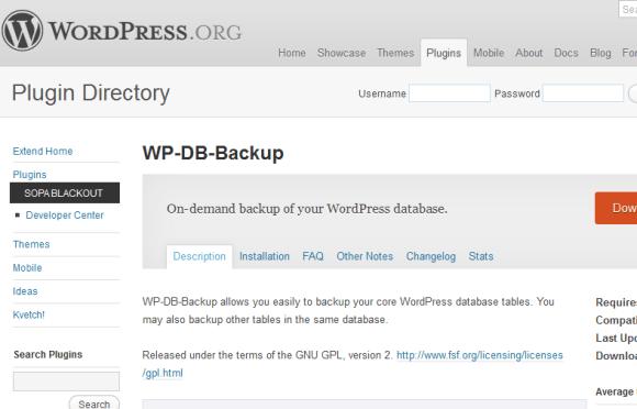 wdb 580x372 Best WordPress Plugins for Backup and Optimization