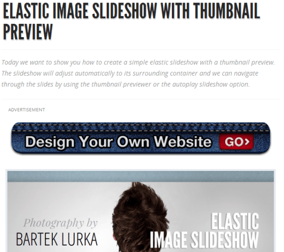 ELASTIC IMAGE SLIDESHOW WITH THUMBNAIL PREVIEW 4 580x516 43 Best jQuery Carousel Sliders, Plugins, Tutorials and Examples