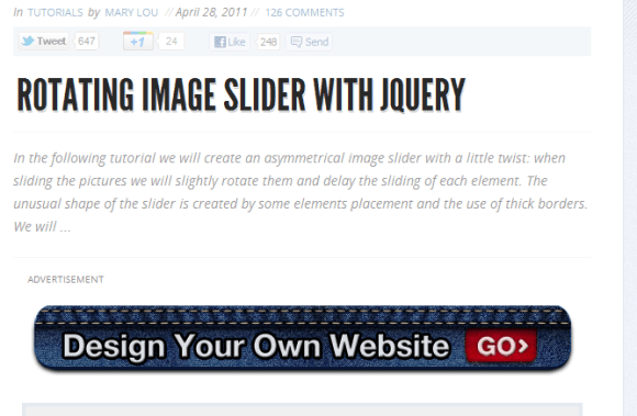 ROTATING IMAGE SLIDER WITH JQUERY 7 580x379 43 Best jQuery Carousel Sliders, Plugins, Tutorials and Examples