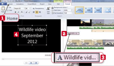 Edit Brilliant Home Movies in 10 Easy Steps – By using the new Windows Movie Maker