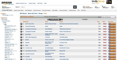 Screen Shot 2013 02 19 at 8.28.21 PM 450x232 Free Music Downloads Online (Legally)