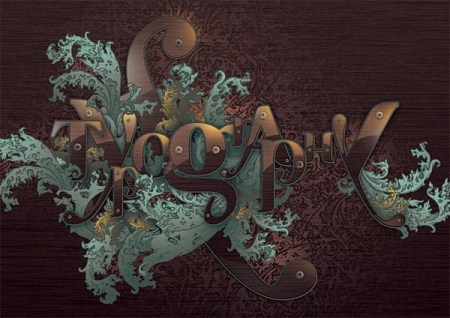 Ornate-Typographic-Illustration