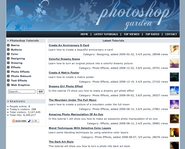 Screen Shot 2014 07 09 at 9.42.51 PM 600x483 60 Best Photoshop Tutorial Sites For Beginners to Advanced