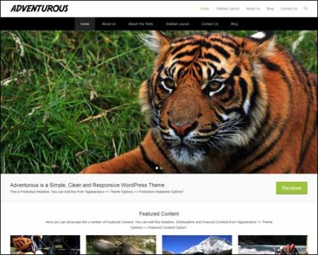 Adventurous Free WordPress Theme