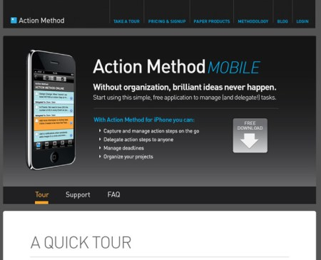 Behance Action Method