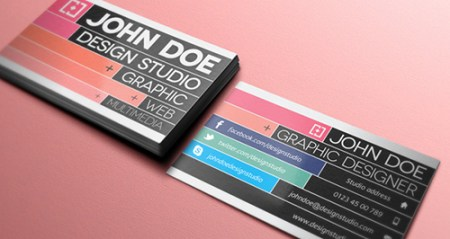 Creative Business Card 450x239 75 Best Free Business Card Templates Worth Downloading