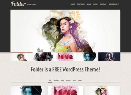 Folder 450x328 75 Best Free Wordpress Themes of 2014 Till July