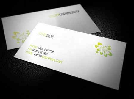Free Beauty Business Card