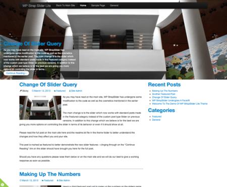 Strap Slider Lite 450x371 75 Best Free Wordpress Themes of 2014 Till July