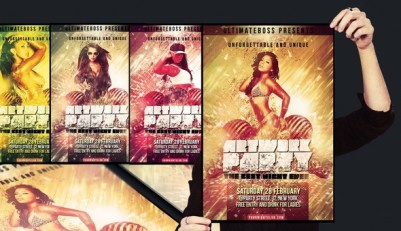 50 Free Party Flyer Templates (Download PSD FIles )