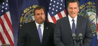 "Claim: Christie's Behavior ""Bugged"" Mitt"