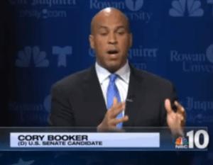 Cory Booker debate