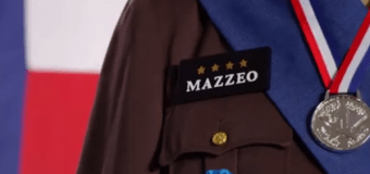 Why the Mazzeo as Patton TV ad is the best of the season