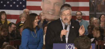 Christie's Caucus Day: Rally with Branstad then N.H. by nightfall