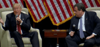 VIDEO: Christie joins Trump for onstage chat in North Carolina