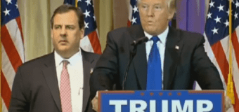 Christie doesn't want to discuss the Donald