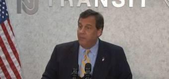 VIDEO: Christie celebrates averted NJ Transit strike