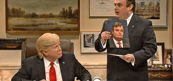 SNL mocks Trump-Christie veep search; the Donald insists Rubio isn't on his list