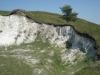 Выход мела на коренном берегу, Бекетовские холмы, Курская область. Фото Н.В. Черткова