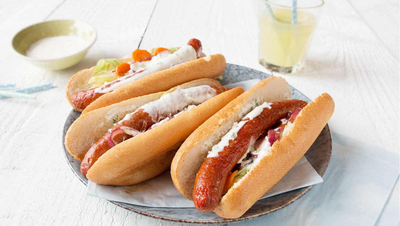 Hot dog piquant