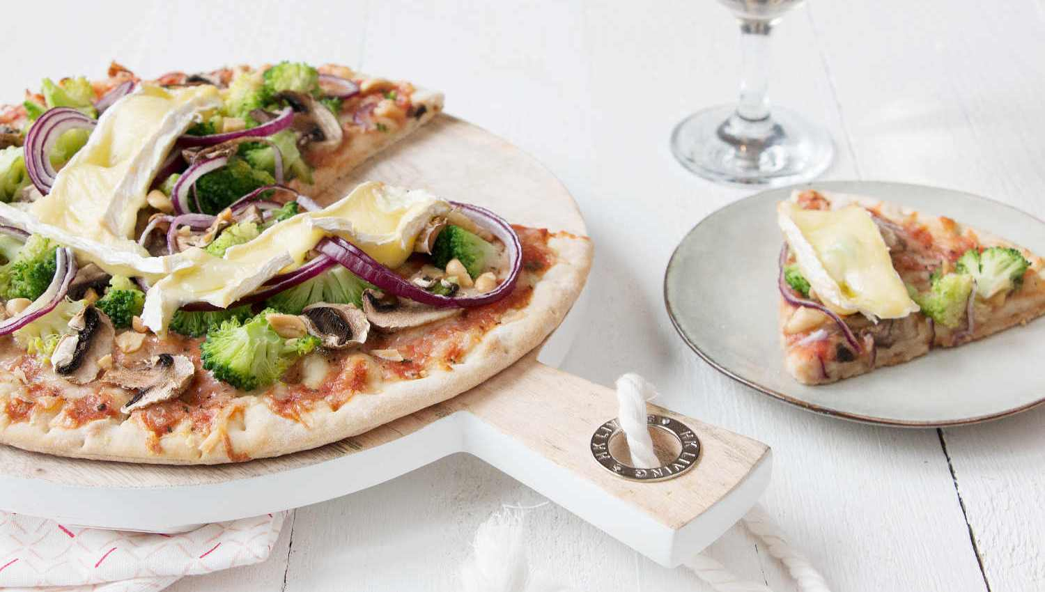 pizza aux brocolis
