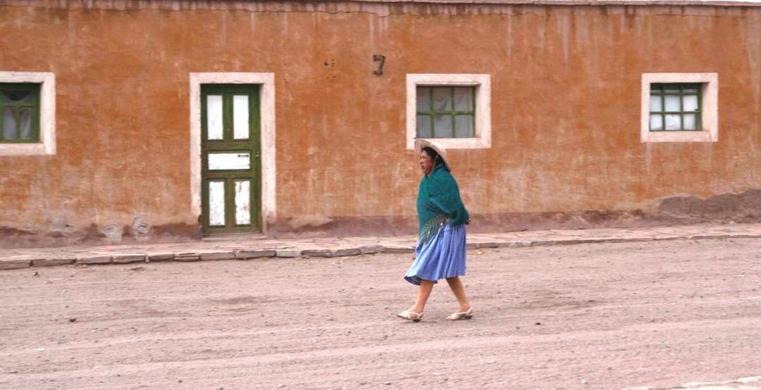 Habitante du Sud de la Bolivie