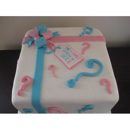 Medium Crop Of Gender Reveal Cake Ideas