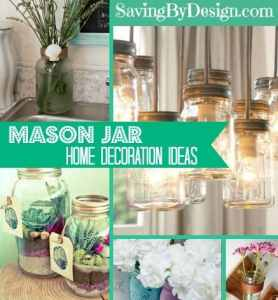 10 mason jar decorations you need in your home