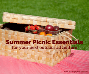 Summer Picnic Essentials for Your Next Outdoor Adventure